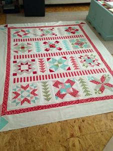 Just an example of one quilt she made.